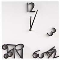 magnetic numbers clock | Nood Furniture  Design