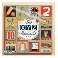 XYZ Blocks - The Alternative to ABC | Folly Home | Design-led Gifts, Home wares, Vintage Finds