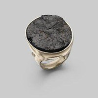 Dominique Cohen - Black Tourmaline & Sterling Silver Ring - Saks.com