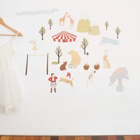 Faraway Circus Fabric Wall Decals | Folly Home | Design-led Gifts, Home wares, Vintage Finds