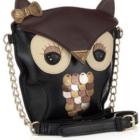 Yenzi Owl X Body | Black | Accessorize