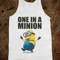 ONE IN A MINION - love - underlindesigns