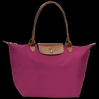 Shopping bag L - Le Pliage - Bags - Longchamp - Fuchsia - Longchamp United-States