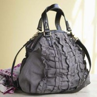 VivaTerra - VivaTerra - Ruffled Hemp Bag