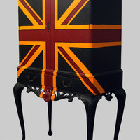 Jimmie Martin Ltd ORANGE UNION JACK CABINET