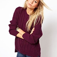 ASOS Aran Jumper at asos.com