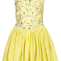 Jewel Tulle Prom Dress by Dress Up Topshop** - Prom Queen Dreams   - Collections  - Topshop