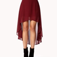 High-Low Chiffon Skirt | FOREVER 21 - 2058092243