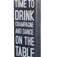 """Time To Drink"" Block 