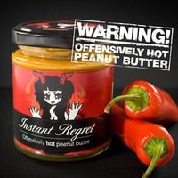 Instant Regret Peanut Butter at Firebox.com