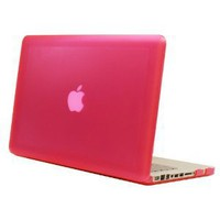 PINK mCover® Hard Shell Case for 13-inch A1278 MacBook Pro with Black Keyboard