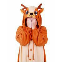 Adorable Sika Deer Pleuche Kigurumi Costume [TQL120329060] - $72.99 : Cosplay, Cosplay Costumes, Lolita Dress, Sweet Lolita