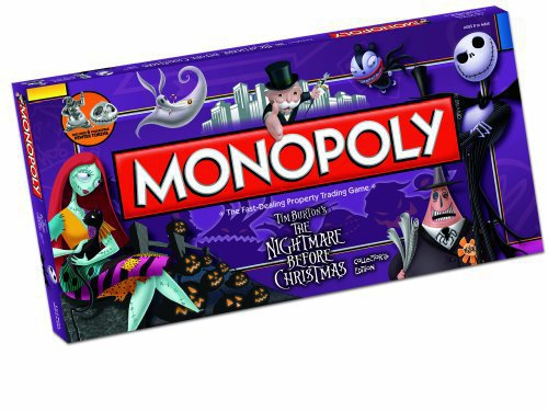 Monopoly The Nightmare Before Xmas