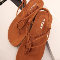 Braided Flat Sandals KC060507