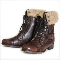 cover me with warmth lace up boots by Diba - &amp;#36;119.99 : ShopRuche.com, Vintage Inspired Clothing, Affordable Clothes, Eco friendly Fashion