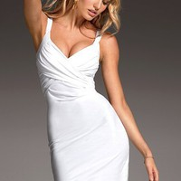 Drape-front Bra Top Dress - Victoria&#x27;s Secret