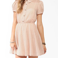 Swiss Dot Georgette Dress | FOREVER 21 - 2025100576