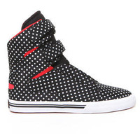 DJPremium.com - Women - Shop by Department - Shoes - Society Polka Dot High Top Sneaker