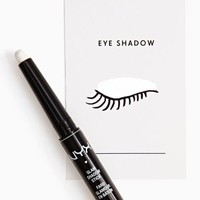 NYX Glam Shadow Stick - White Metallic