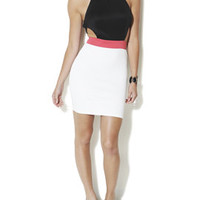 Necklace Colorblock Dress | Shop Dresses at Arden B