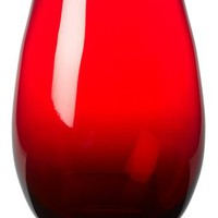 Artland Midnight Rouge Stemless Tall, Set of 4