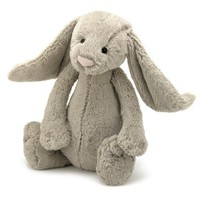 "Bashful Large Beige Bunny 15"" by Jellycat"