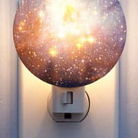 Kikkerland Cosmic Galaxy You Later Night Light