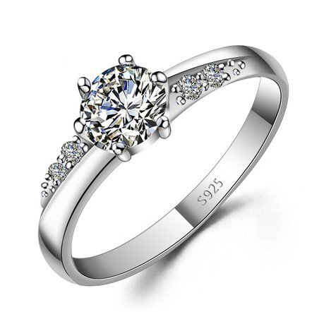 custom name engraved zircon promise ring from gullei