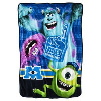 Disney Monsters University Throw - Blue