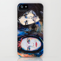 Ygritte, Jon Snow  iPhone & iPod Case by Slaveika Aladjova