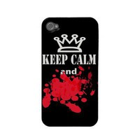 Funny Keep Calm iphone 4 cases from In Case