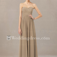 Chiffon Bridal Party Gown