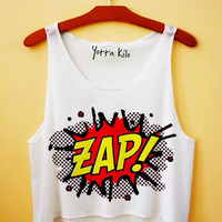 ZAP Crop Tank Top