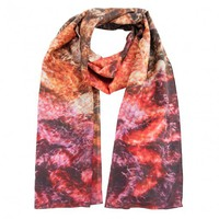 Knit & Stitch Silk Scarf