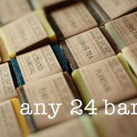 Any 24 BarsAll Natural Handmade Cold Process by RockyTopSoapShop