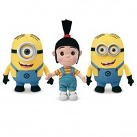 Despicable Me 2 9 Inch Minion Plush Set