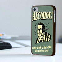 Alcohol Beer - Print On Hard Cover - iPhone 4/4S Case and iPhone 5 Case