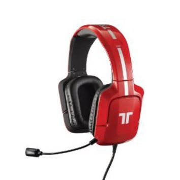 TRITTON 720+ 7.1 Surround Headset for Xbox 360 and PS3 - Red