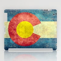 Colorado State Flag iPad Case by Bruce Stanfield