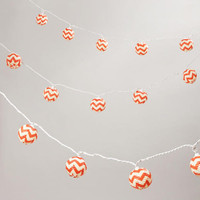 Chevron Paper String Lights | World Market
