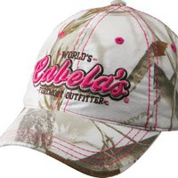 Cabela's Women's Foremost Outfitter Camo Cap