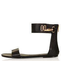 FORTUNATE Cuff Sandals - Flat Sandals - Flats - Shoes - Topshop