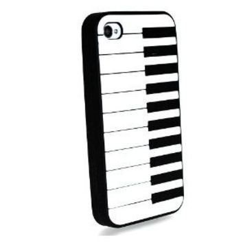 Piano Keyboard Cover Case for Apple Iphone