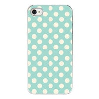 Polka dot Iphone case pattern Iphone cover by RetroLoveCases