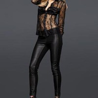 Victoria's Secret - NEW! Leather Legging
