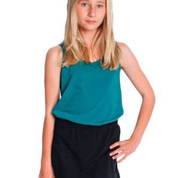 American Apparel Youth Cotton Spandex Jersey Skort