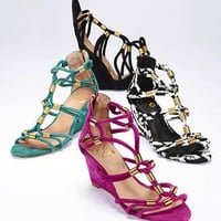 Strappy Mini Wedge Sandal - Colin Stuart® - Victoria's Secret
