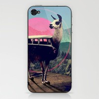 Llama iPhone & iPod Skin by Ali GULEC | Society6