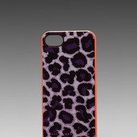 Marc by Marc Jacobs Lenora Leopard Phone Case in Royal Purple Multi from REVOLVEclothing.com