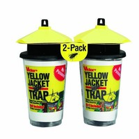 Victor Poison-Free M367 Disposable Yellow Jacket Trap with Bait 2-Pack:Amazon:Patio, Lawn & Garden